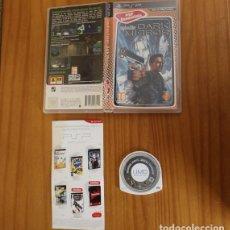 Videojuegos y Consolas: JUEGO PSP SYPHON FILTER DARK MIRROR. PLAYSTATION PORTABLE PAL ESPAÑA SIN MANUAL. Lote 261662145