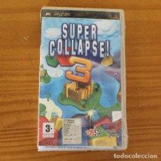 Videojuegos y Consolas: JUEGO PSP SUPER COLLAPSE 3. PLAYSTATION PORTABLE PAL ITALIA PRECINTADO. Lote 261662165