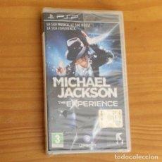 Videojuegos y Consolas: JUEGO PSP MICHAEL JACKSON THE EXPERIENCE. PLAYSTATION PORTABLE PAL ITALIA PRECINTADO. Lote 261662245