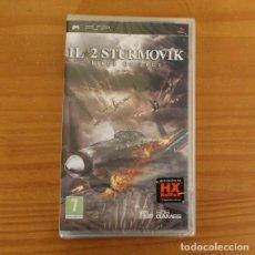 Videojuegos y Consolas: JUEGO PSP IL2 STURMOVIK BIRDS OF PREY. PLAYSTATION PORTABLE PAL ITALIA PRECINTADO. Lote 261662270