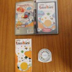 Videojuegos y Consolas: JUEGO PSP LOCOROCO. PLAYSTATION PORTABLE PAL ESPAÑA CON MANUAL LOCO ROCO. Lote 261662275