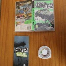 Videojuegos y Consolas: JUEGO PSP COLIN MCRAE DIRT 2. PLAYSTATION PORTABLE PAL ESPAÑA CON MANUAL. Lote 261662295