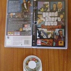 Videojuegos y Consolas: JUEGO PSP GRAND THEFT AUTO CHINATOWN WARS. PLAYSTATION PORTABLE PAL ESPAÑA ROCKSTAR SIN MANUAL. Lote 261662340