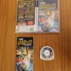 Videojuegos y Consolas: JUEGO PSP GOTLIEB PINBALL CLASSICS. PLAYSTATION PORTABLE PAL FRANCIA CON MANUAL. Lote 261662365