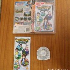 Videojuegos y Consolas: JUEGO PSP EVERYBODY'S GOLF 2. PLAYSTATION PORTABLE PAL ESPAÑA CON MANUAL. Lote 261662410