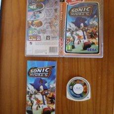 Videojuegos y Consolas: JUEGO PSP SONIC RIVALS. PLAYSTATION PORTABLE PAL ESPAÑA SEGA CON MANUAL. Lote 261662445