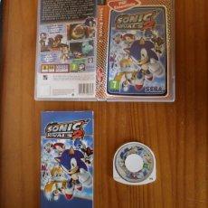 Videojuegos y Consolas: JUEGO PSP SONIC RIVALS 2. PLAYSTATION PORTABLE PAL ESPAÑA SEGA CON MANUAL. Lote 261662460