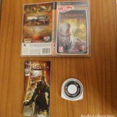 Videojuegos y Consolas: JUEGO PSP GOD OF WAR CHAINS OF OLYMPUS. PLAYSTATION PORTABLE PAL ESPAÑA CON MANUAL. Lote 261662485