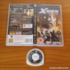 Videojuegos y Consolas: JUEGO PSP X-MEN LEGENDS II RISE OF APOCALYPSE. PLAYSTATION PORTABLE PAL UK MARVEL ACTIVISION. Lote 261662505