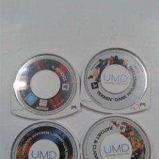 Videojuegos y Consolas: LOTE 4 JUEGOS PSP.. Lote 261685390