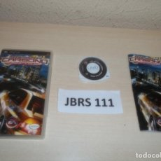 Videojuegos y Consolas: PSP - NEED FOR SPEED CARBONO , PAL ESPAÑOL , COMPLETO. Lote 262056415