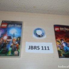 Videojuegos y Consolas: PSP - LEGO HARRY POTTER 1-4 AÑOS , PAL ESPAÑOL , COMPLETO. Lote 262056610