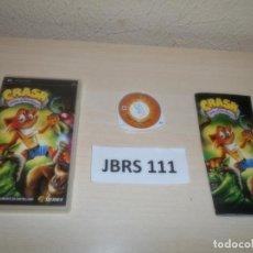 Videojuegos y Consolas: PSP - CRASH - GUERRA AL COCO-MANIACO , PAL ESPAÑOL , COMPLETO. Lote 262057355
