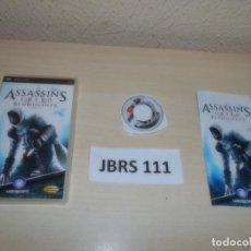Videojuegos y Consolas: PSP - ASSASINS CREED BLOODLINES , PAL ESPAÑOL , COMPLETO. Lote 262057605