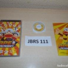 Videojuegos y Consolas: PSP - APE ACADEMY , PAL ESPAÑOL , COMPLETO. Lote 262057770