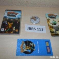 Videojuegos y Consolas: PSP - RATCHET & CLANK - EL TAMAÑO IMPORTA , PAL ESPAÑOL , COMPLETO. Lote 262058085