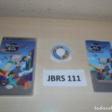 Videojuegos y Consolas: PSP - PHINEAS Y FERB A TRAVES DE LA 2º DIMISION , PAL ESPAÑOL , COMPLETO. Lote 262058180