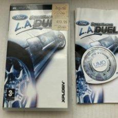 Videojuegos y Consolas: FORD STREET RACING LA DUEL L.A. PSP KREATEN. Lote 262133025