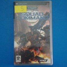 Videojuegos y Consolas: VIDEOJUEGO DE PLAYSTATION PSP WARHAMMER SQUAD COMMAND AÑO 2007 Nº 5. Lote 265169954