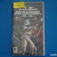 Videojuegos y Consolas: VIDEOJUEGO DE PLAYSTATION PSP STAR WARS BATTLEFRONT II AÑO 2005 Nº 6. Lote 265170344