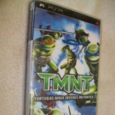 Videojuegos y Consolas: TEENAGE MUTANT NINJA TURTLES SONY PSP. Lote 268281754
