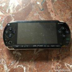 Videojuegos y Consolas: PSP CONSOLA PORTATIL SONY NEGRA - PARA RESTAURAR O PIEZAS. Lote 269478713