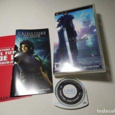 Videogiochi e Consoli: CRISIS CORE - FINAL FANTASY VII ( SONY PSP - PAL - ESP). Lote 269647698