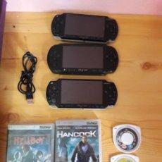 Videojuegos y Consolas: LOTE 3 PSP Y JUEGOS. Lote 270168813