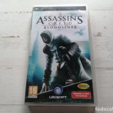 Videojuegos y Consolas: ASSASSIN´S CREED BLOODLINES PSP COMPLETO. Lote 270565068