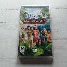 Videojuegos y Consolas: SIMS 2 NAUFRAGOS 2 PSP SONY COMPLETO. Lote 270566368