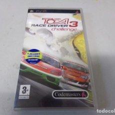 Videojuegos y Consolas: TOCA 3 RACE DRIVER CHALLENGE PSP VERSION ESPAÑA. Lote 270635348