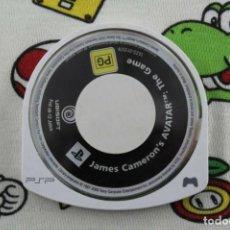 Videojuegos y Consolas: PLAY STATION PSP JAMES CAMERON'S AVATAR SOLO UMD PAL ESPAÑA. Lote 271382353