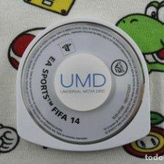 Videojuegos y Consolas: PLAY STATION PSP EA SPORTS FIFA 14 SOLO UMD PAL ESPAÑA. Lote 271383048