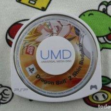 Videojuegos y Consolas: PLAY STATION PSP DRAGON BALL Z SHIN BUDOKAI SOLO UMD PAL ESPAÑA. Lote 271383328
