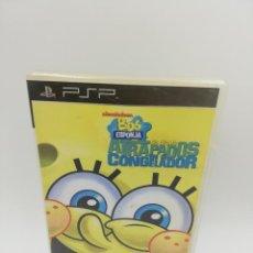 Videojuegos y Consolas: BOB ESPONJA ATRAPADOS EN EL CONGELADOR PSP. Lote 271410838