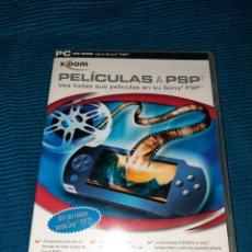 Videojuegos y Consolas: PC CD ROM PARA SONY PSP X-OOM,PELÍCULAS A PSP,VEA TODAS LAS PELÍCULAS EN SU PSP, CON INSTRUCCIONES. Lote 276101323