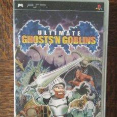 Videojuegos y Consolas: ULTIMATE GHOSTS 'N GOBLINS - PSP - JUEGO PAL - FUNCIONANDO - PLAYSTATION .. Lote 276298658