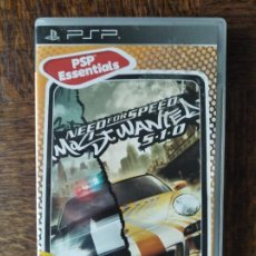Videojuegos y Consolas: NEED FOR SPEED MOST WANTED 5-1-0 - PSP PLAYSTATION PAL -. Lote 276530733