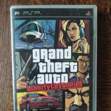 Videojuegos y Consolas: GTA GRAND THEFT AUTO, LIBERTY CITY STORIES - PSP PLAYSTATION PAL -. Lote 276531013