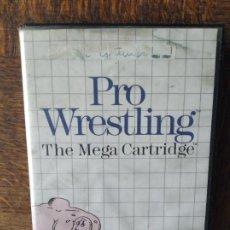 Videojuegos y Consolas: PRO WRESTLING, THE MEGA CARTRIDGE - JUEGO SEGA MASTER SYSTEM MASTERSYSTEM- PAL VERSIÓN ESPAÑOLA. Lote 276531993