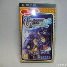 Videojuegos y Consolas: PHANTASY STAR PORTABLE JUEGO DE SEGA PARA SONY PSP. Lote 276944303