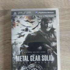 Videojuegos y Consolas: METAL GEAR SOLID PLAYSTATION PORTABLE PSP. Lote 278937393