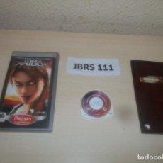 Videojuegos y Consolas: PSP - TOMB RAIDER LEGEND , PAL ESPAÑOL , COMPLETO. Lote 286872093