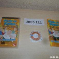Videojuegos y Consolas: PSP - PADRE DE FAMILIA , PAL ESPAÑOL , COMPLETO. Lote 286872143