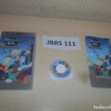 Videojuegos y Consolas: PSP - PHINEAS Y FERB A TRAVES DE LA 2º DIMISION , PAL ESPAÑOL , COMPLETO. Lote 286872458