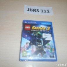 Videojuegos y Consolas: PSP VITA - LEGO BATMAN 3 MAS ALLA DE GOTHAM , PAL ESPAÑOL , PRECINTADO. Lote 286880083