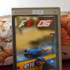 Videojuegos y Consolas: JUEGO F1-06 PLATINUM PARA PSP. Lote 287133693