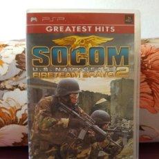 Videojuegos y Consolas: JUEGO SOCOM U.S. NAVY SEALS FIRETEAM BRAVO 2 PARA PSP. Lote 287135893