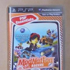 Videojuegos y Consolas: MODNATION RACERS - JUEGO - PSP ESSENTIALS. Lote 287335083