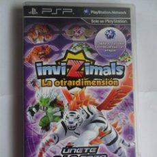 Videojuegos y Consolas: PSP INVIZIMALS LA OTRA DIMENSIÓN. Lote 287647993